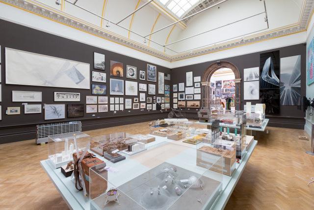 Installation view of Royal Academy Summer Exhibition 2014 c. Benedict Johnson